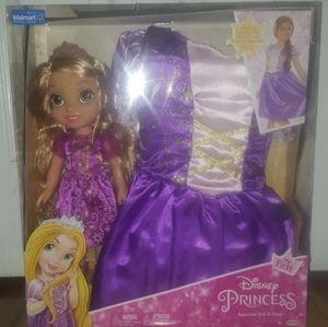 Disney Princess Rapunzel Doll & Gown
